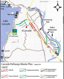Cascade Pathways Plan Map
